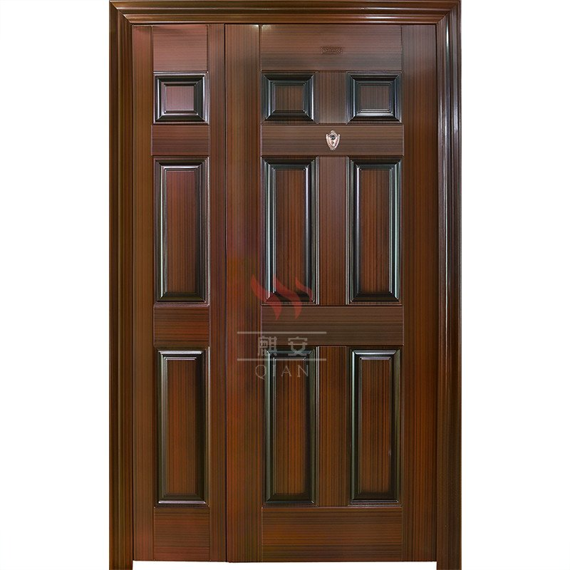 Stainless Steel Safety Interior Door Design High Security Exterior
