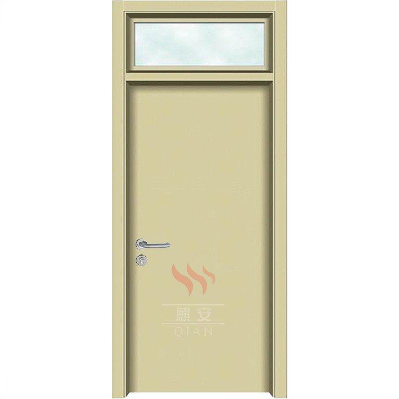 Interior Hospital School Soundproof Wood Door Glass Panel