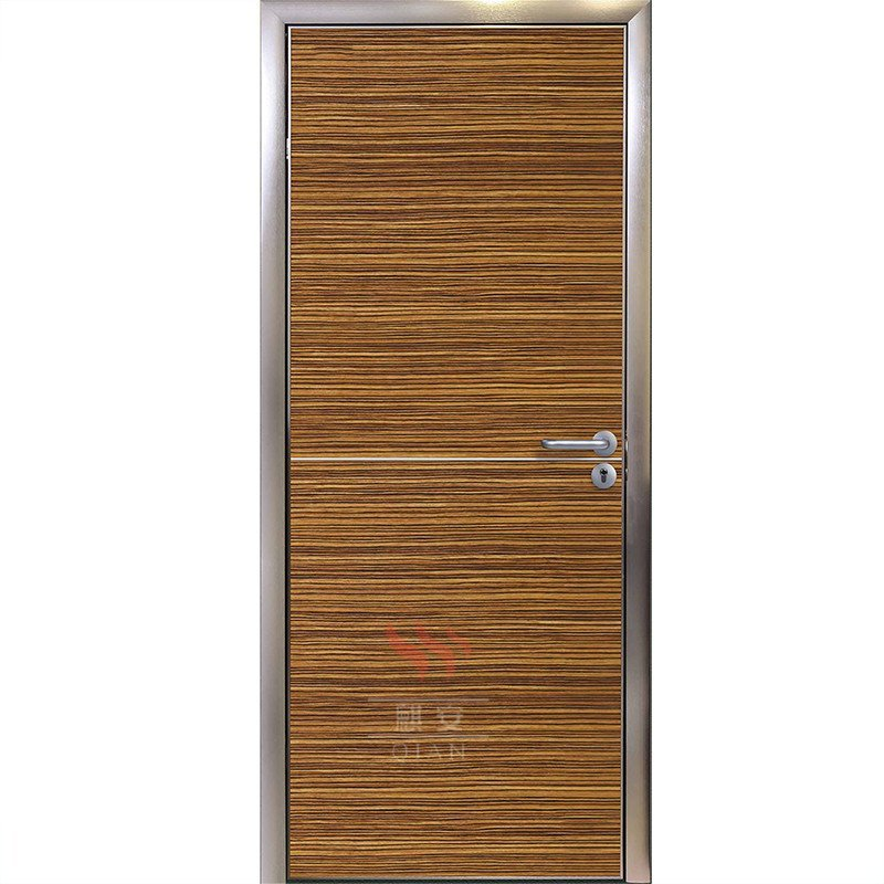Ecological Decoration Wooden Manual Flush Interior Door