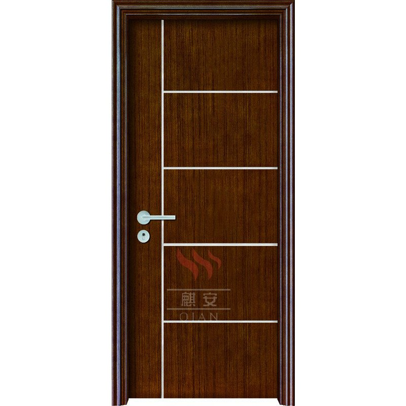 Custom Interior Solid Wood Fire Rated Timber Fireproof Wood Doors