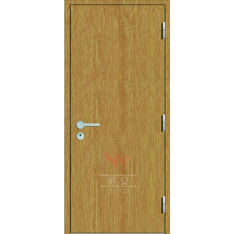 High Quality 1 Hour Flat Fire Rated Interior Wood Door
