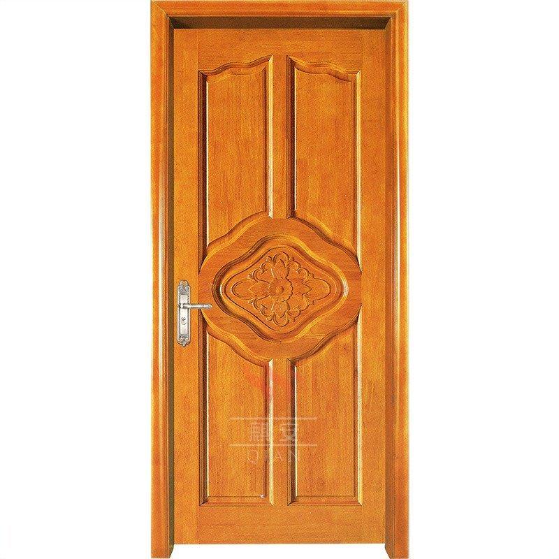 Custom Solid Cherry Wood Interior Door Grain Timber For Commercial
