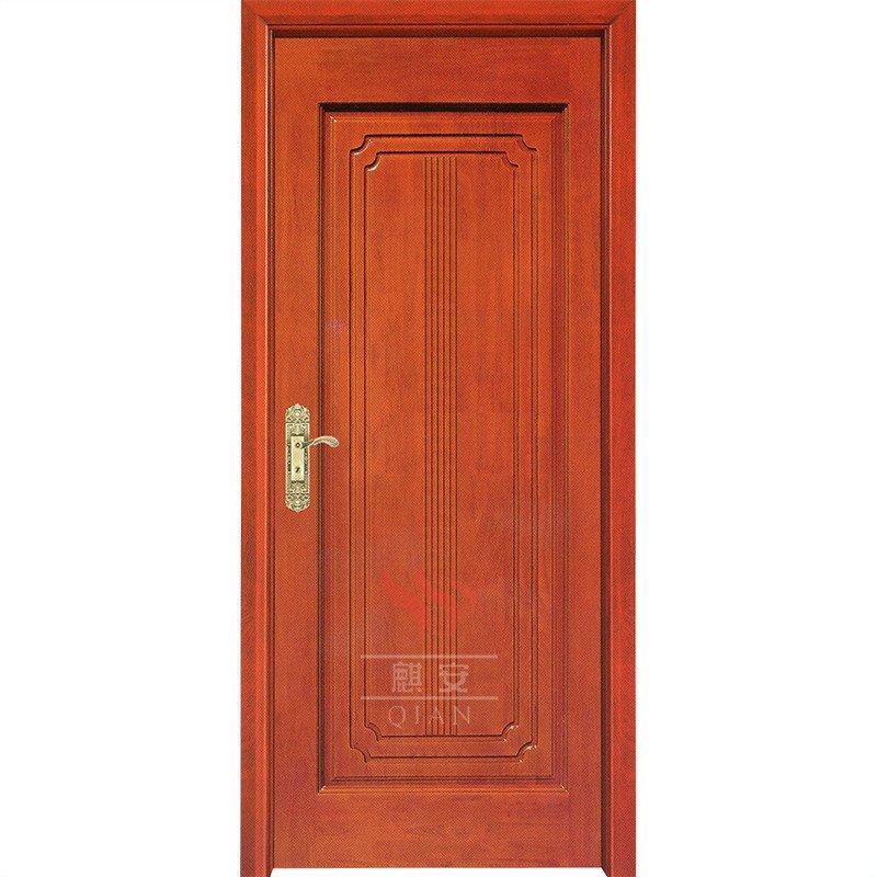 Custom Solid Cherry Wood Interior Door Flat